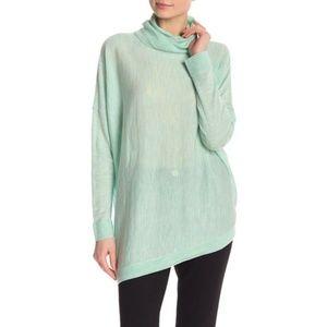 Eileen Fisher Turtleneck Merino Wool Size Medium